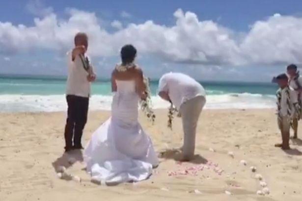 Як свідок наблював на обітницю наречених - фото 1