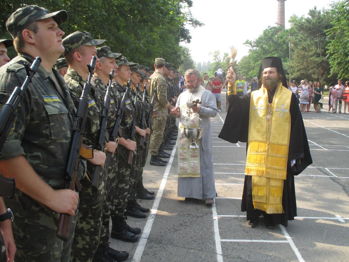 У Миколаєві присягнули на вірність Україні 30 харківських студентів