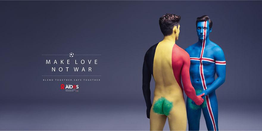 Як кольорові голі люди пестилися проти СНІДу - фото 3