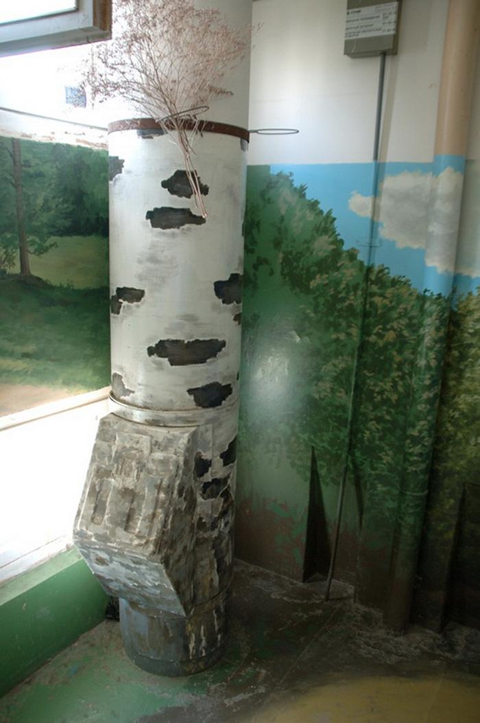 Як на Росії художник-самородок розмальовує під'їзди мальовничими краєвидами   - фото 3