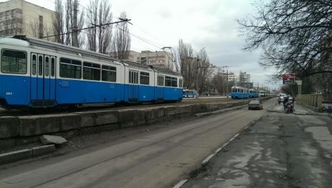 У Вінниці через п'яницю довелось зупинити трамваї - фото 1