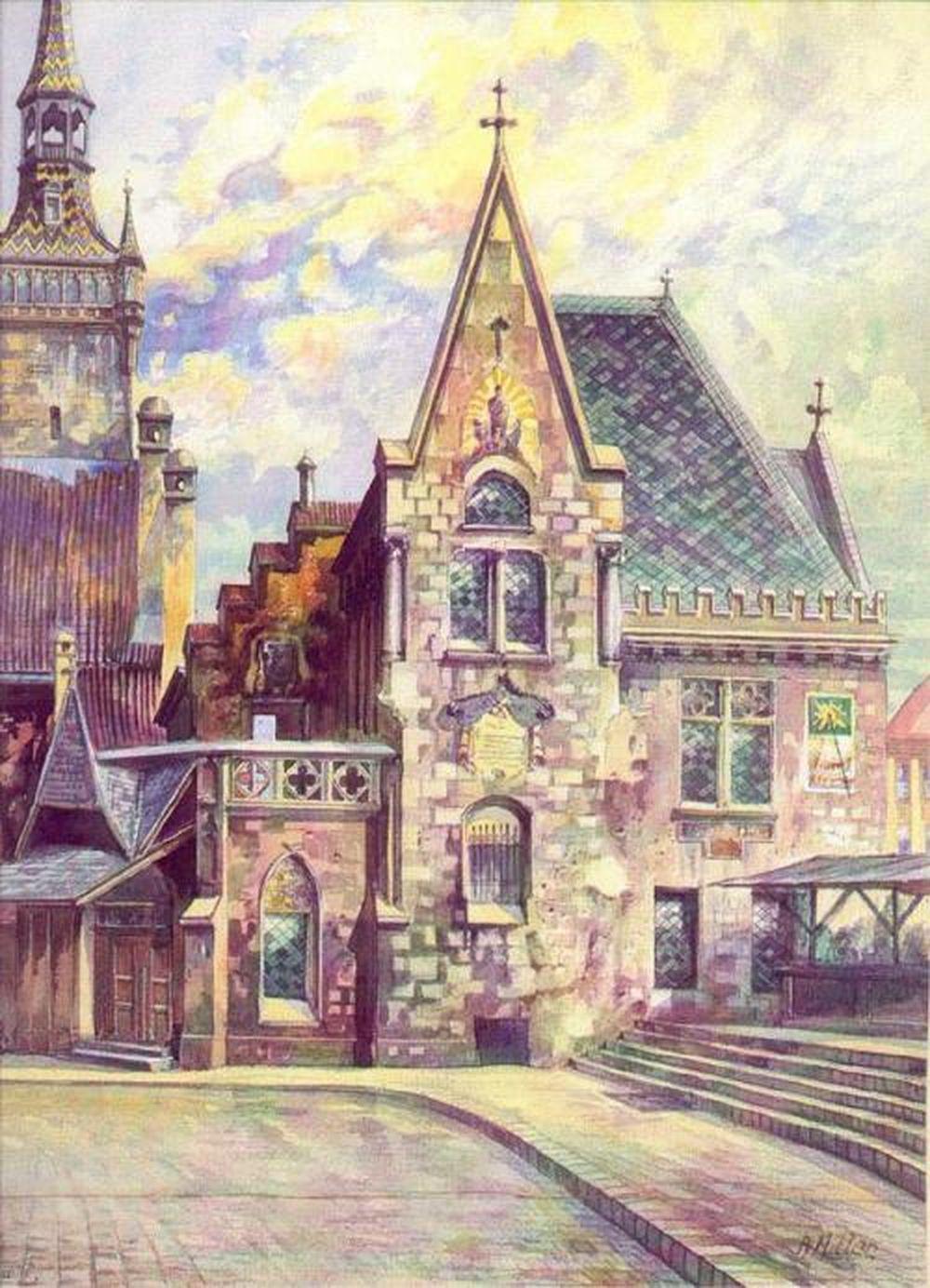 Як виглядають картини, які малював Гітлер - фото 7