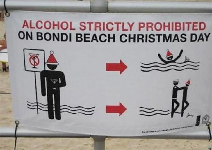 10 найдивніших пляжних знаків - фото 2