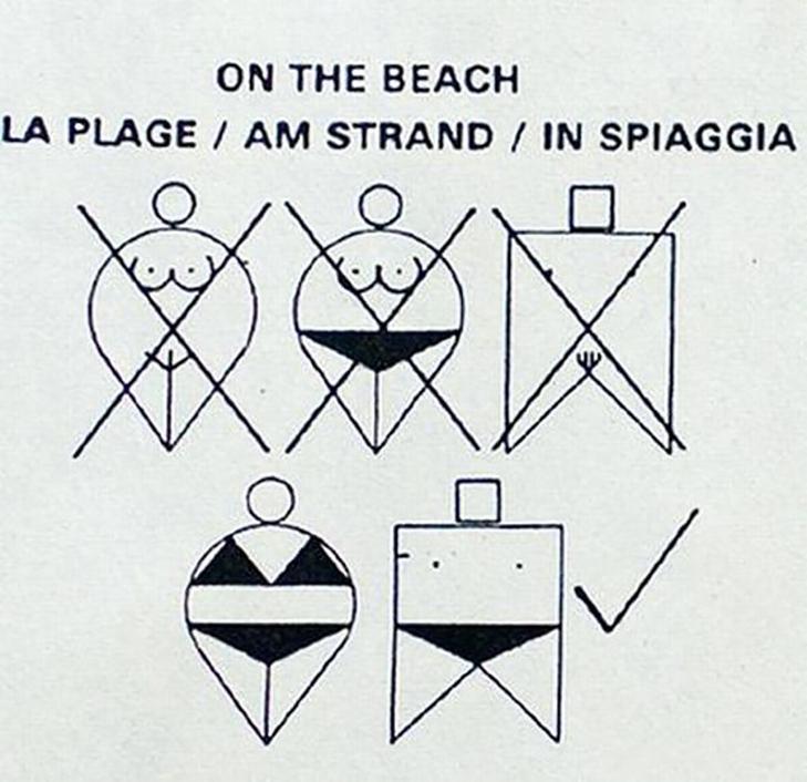 10 найдивніших пляжних знаків - фото 8