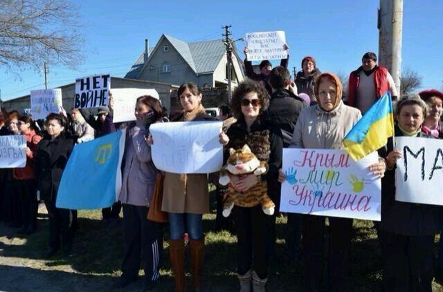 Хроніки окупації Криму: героїчний марш полковника Мамчура - фото 7