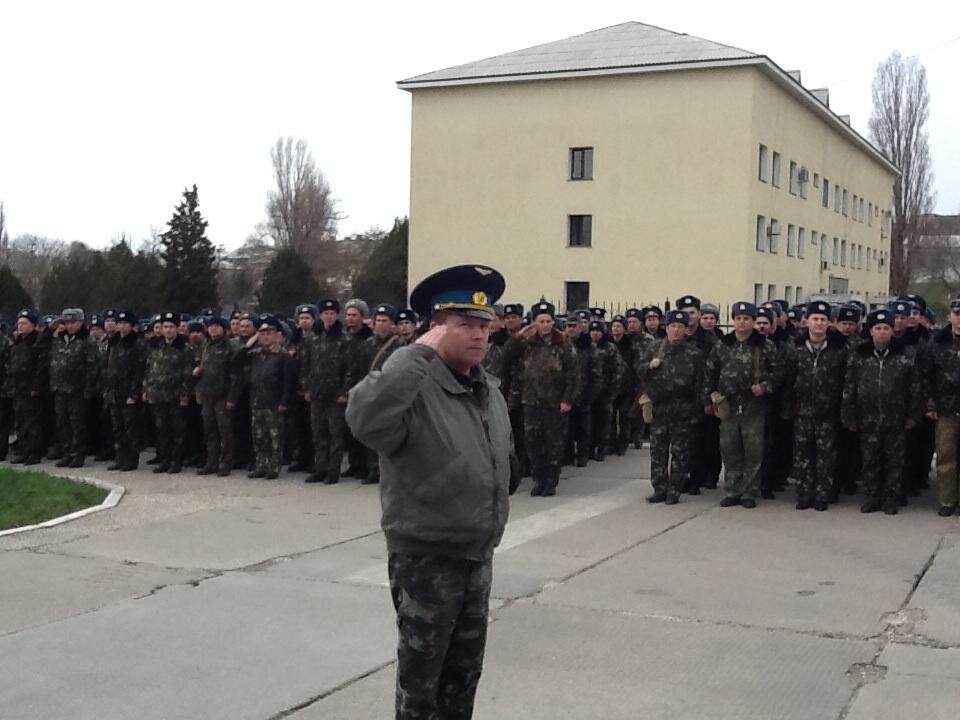 Хроніки окупації Криму: героїчний марш полковника Мамчура - фото 2