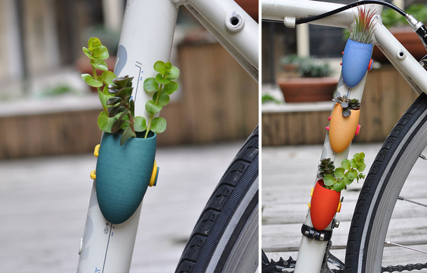 Новий хіт сезону: вази, які кріпляться до велосипедів - фото 2
