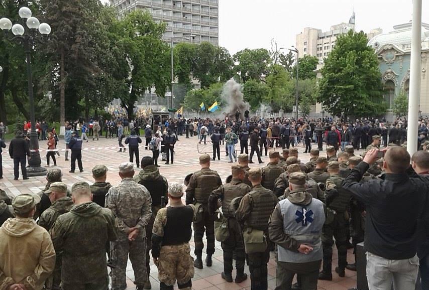 """""""Азовці"""" під Вагнера дісталися Ради (ФОТО) - фото 1"""