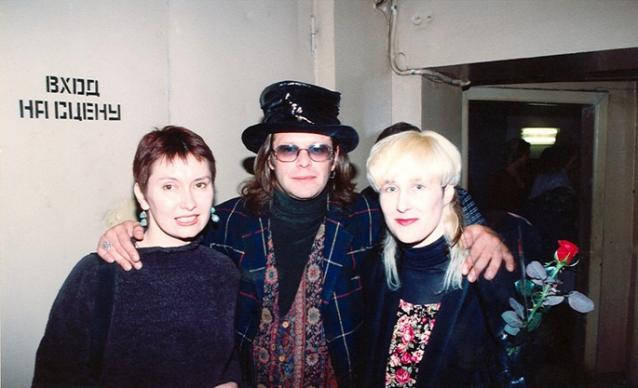 Американська співачка виклала в мережу архівні фото Цоя і Гребенщикова - фото 1