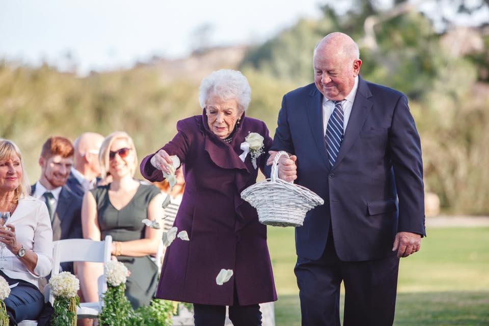 Як 95-річна бабуся стала дружкою - фото 3