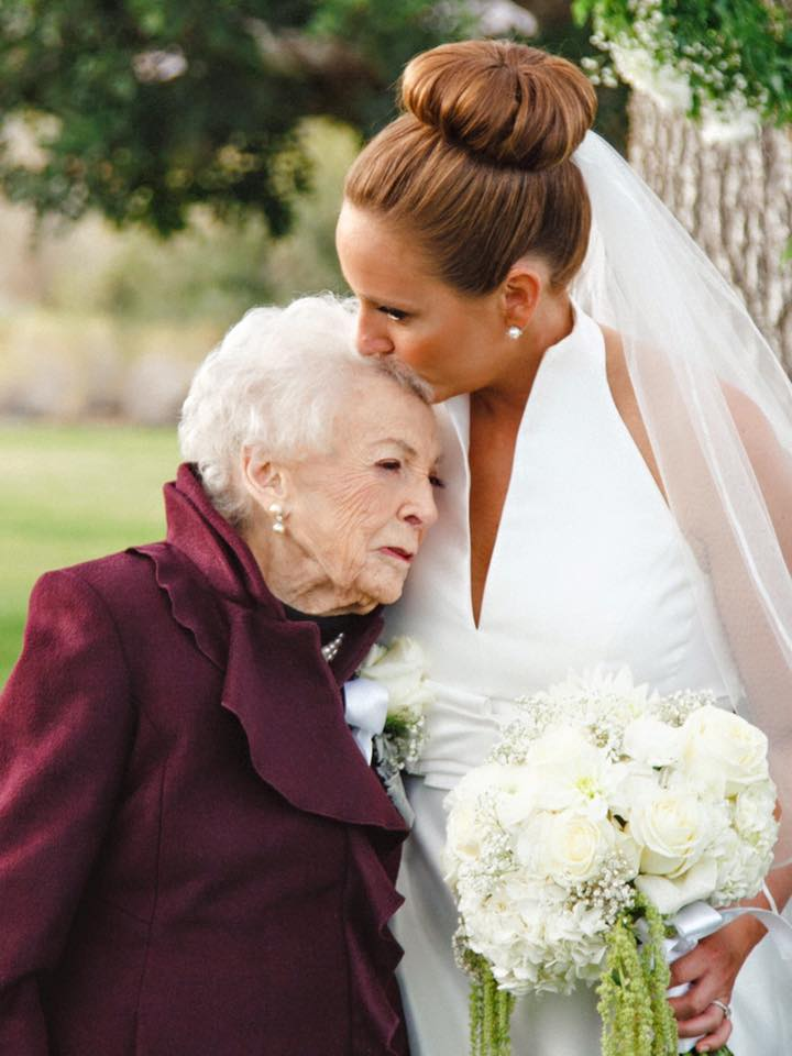 Як 95-річна бабуся стала дружкою - фото 2
