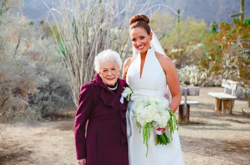 Як 95-річна бабуся стала дружкою - фото 1