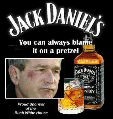 Як Джордж Буш вдавився брецелем - фото 3