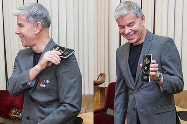 """Путінолюб Газманов похизувався """"патріотичним"""" iPhone  - фото 1"""