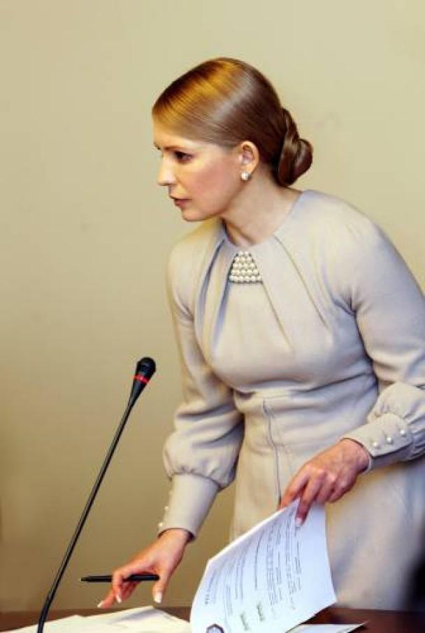 Юлія Тимошенко зачіска