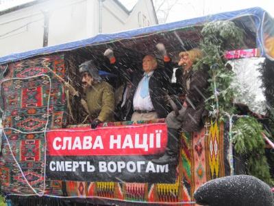 """Як на Буковині """"бендерівці"""" страчували Путіна - фото 2"""