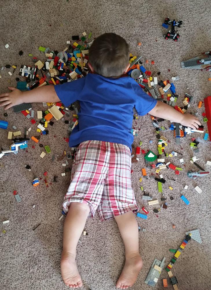 35 кумедних доказів того, що діти можуть заснути де завгодно - фото 2