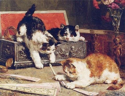 Котофілія у XIX столітті: Як раніше обожнювали котиків - фото 7