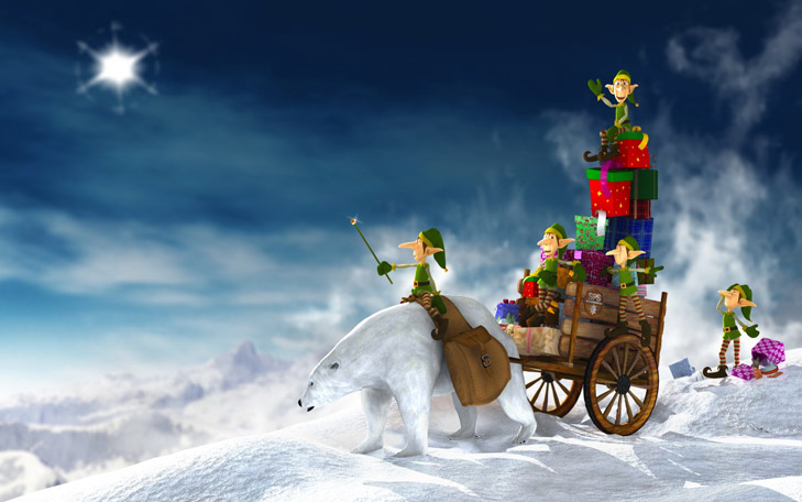 """Топ-20 несподіваних різдвяних """"шпалер"""" для робочого столу - фото 11"""