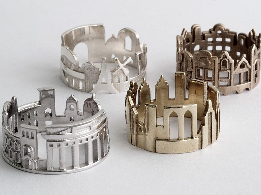 Як виглядають відомі міста світу у вигляді обручок  - фото 2