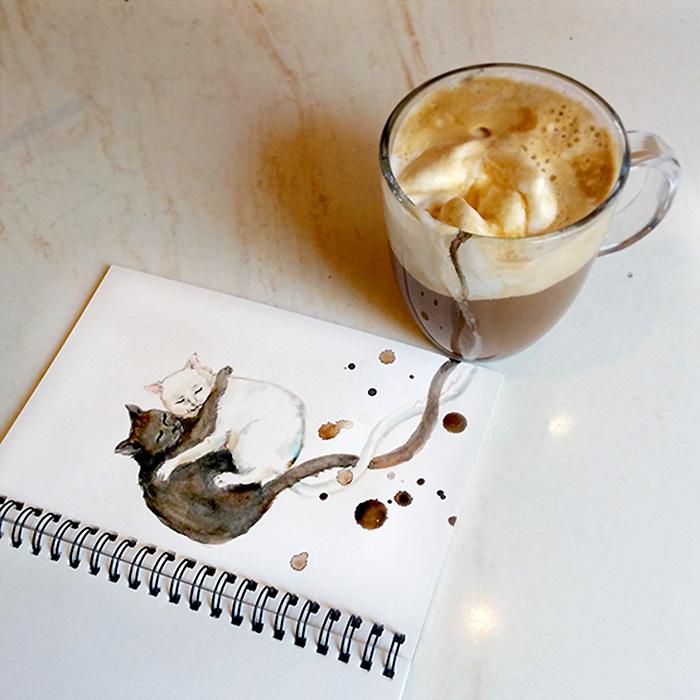 Коти та кава: які породи котів відповідають способу приготування кави - фото 1