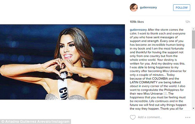 """Неправильна """"Міс Всесвіт"""" прокоментувала прикрий випадок на конкурсі - фото 1"""