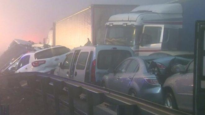У Словенії зіткнулося 50 авто - фото 1