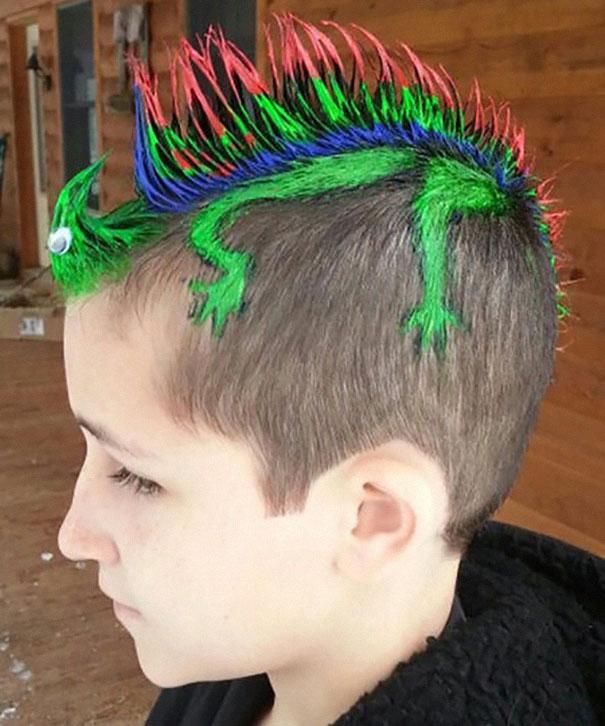 Як виглядають, найбожевільніші зачіски, які вражають - фото 4