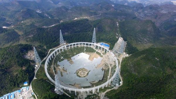 У Китаї будують найбільший телескоп, щоб знайти інопланетян - фото 4