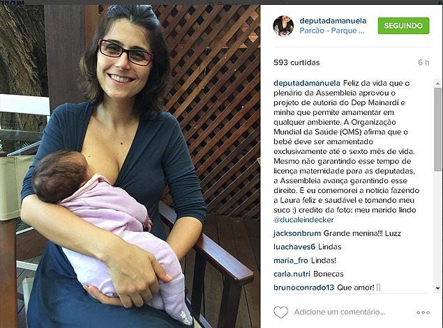 Як бразильський депутат годувала дитину грудьми під час промови у парламенті - фото 3