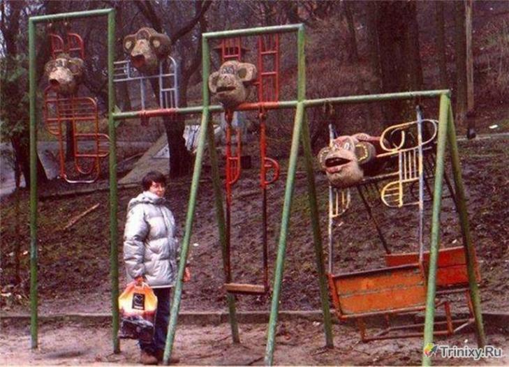 30 дитячих майданчиків, від яких стає моторошно - фото 8