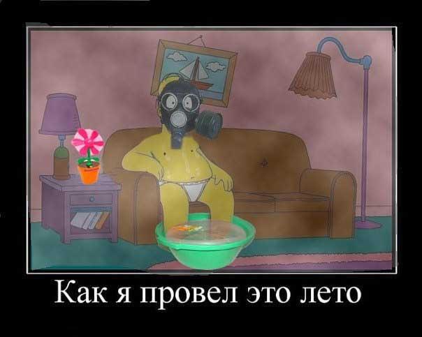 Їжачок в тумані і гламурний протигаз: ТОП-13 приколів про смог у Києві - фото 13