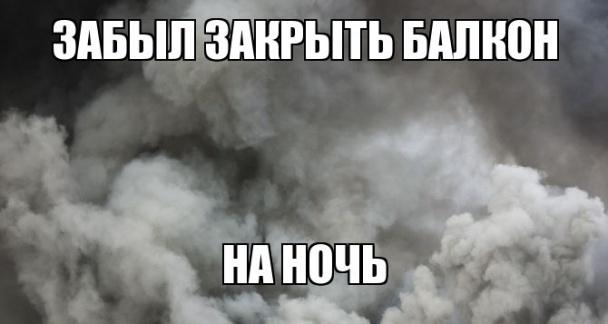 Їжачок в тумані і гламурний протигаз: ТОП-13 приколів про смог у Києві - фото 6