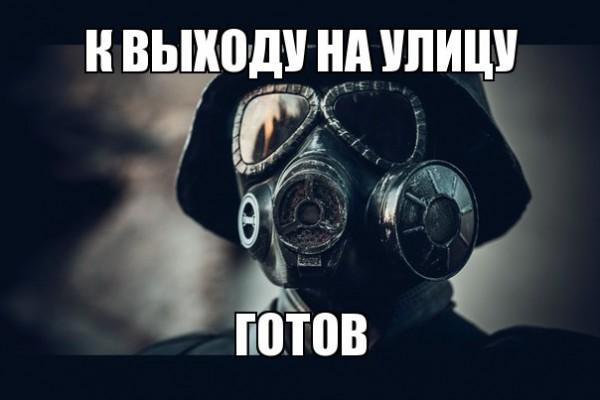 Їжачок в тумані і гламурний протигаз: ТОП-13 приколів про смог у Києві - фото 2