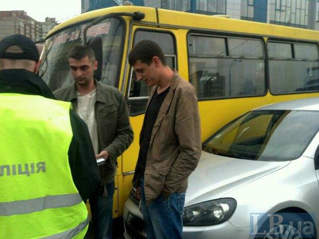 П'яні поліцейські влаштували ДТП в Києві (ФОТО) - фото 1