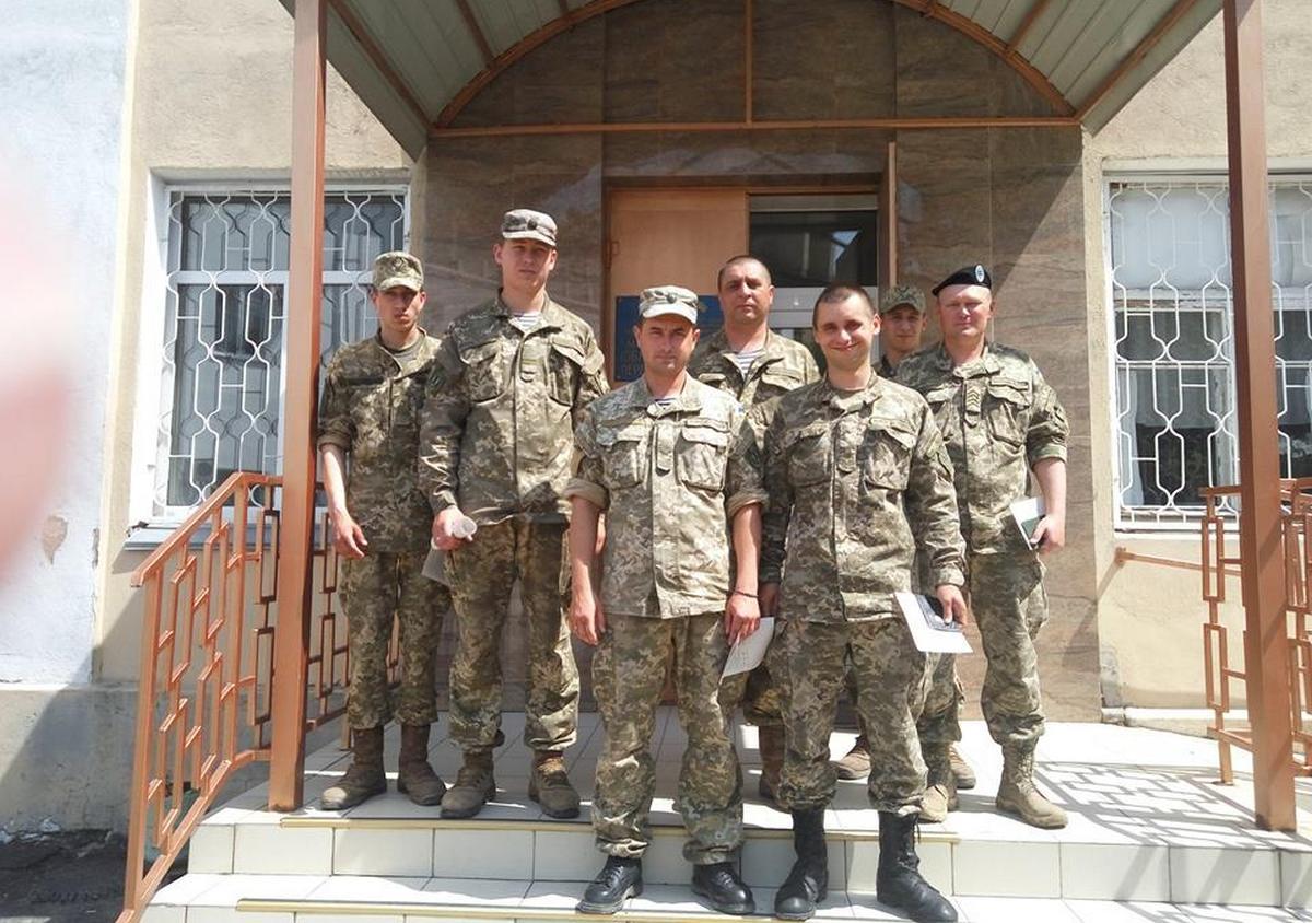Миколаївські морські піхотинці здали кров для хворої доньки побратима - фото 1