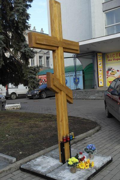 """У Вінниці відреставрували Майданівську """"ялинку"""" - фото 3"""