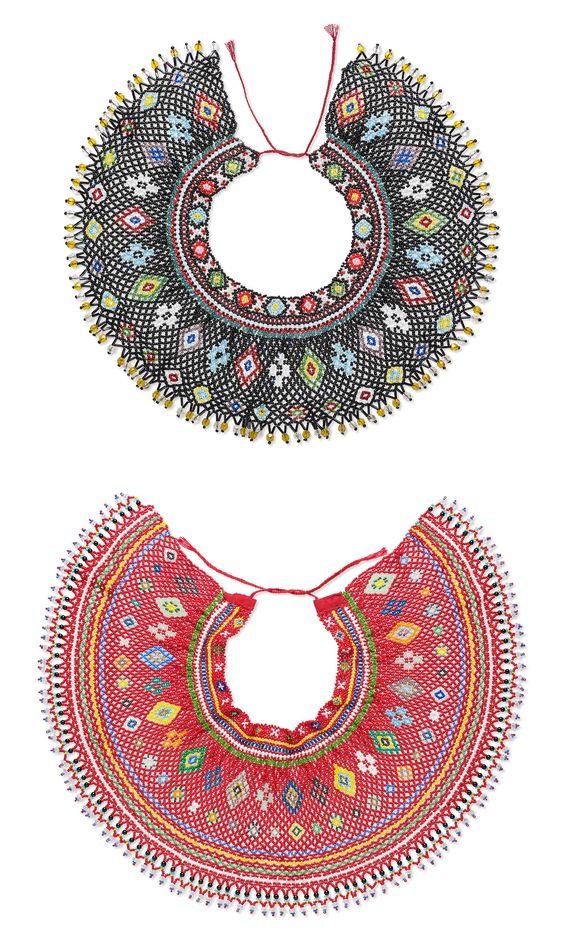 Які комірці з бісеру носили лемківські жінки - фото 4