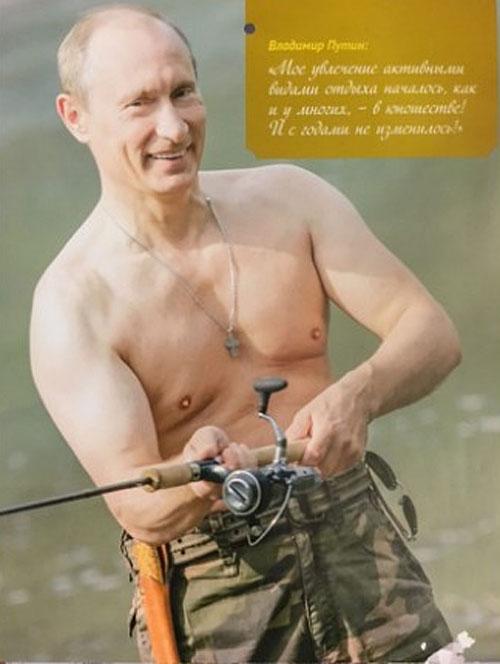 """На Росії """"склепали"""" календар з фотографіями Путіна - фото 13"""