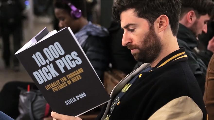 Як хлопець епатував людей книгою про 10 тис. фалосів - фото 3