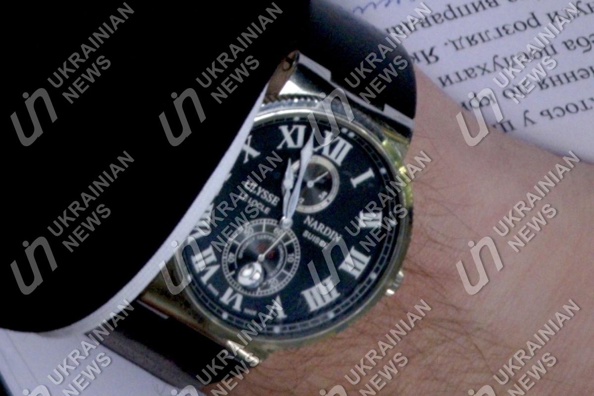 """Луценко прийшов в Раду """"за Онищенком"""" в годиннику за $ 30 тис.  - фото 1"""
