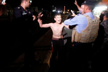 ВКиркуке милиция приостановила ребенка-смертника