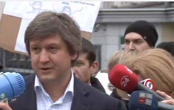 Під Адміністрацією Порошенка купка людей протестує проти електронних декларацій - фото 2