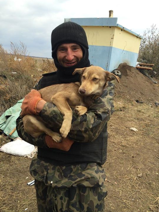 Чим займаються на Донбасі найкращі друзі бійців АТО - 7 - фото 10