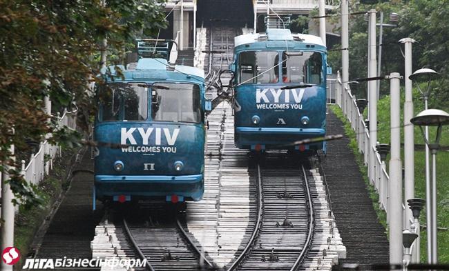 У Києві запустили фунікулер (ФОТО) - фото 1