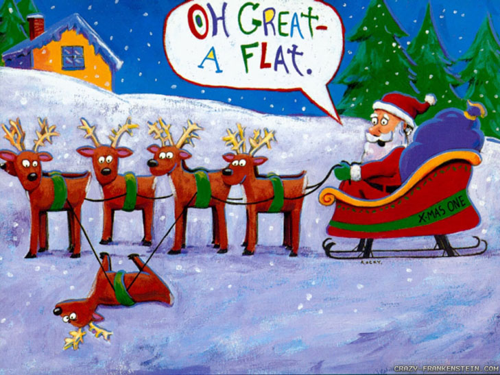 """Топ-20 несподіваних різдвяних """"шпалер"""" для робочого столу - фото 7"""
