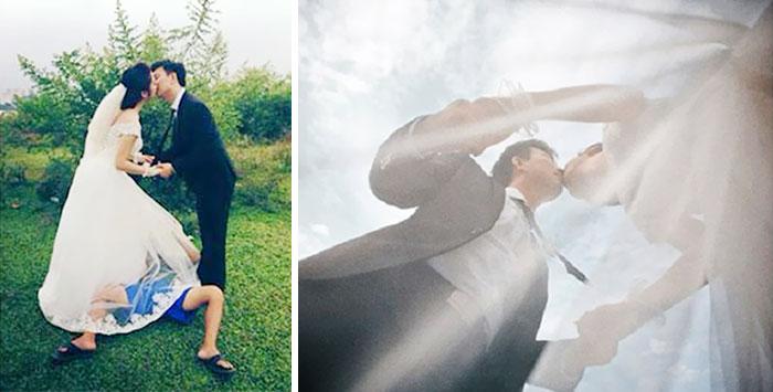 ТОП-8 весільних фотографів, яким доводиться лізти в багнюку і під спідницю - фото 7