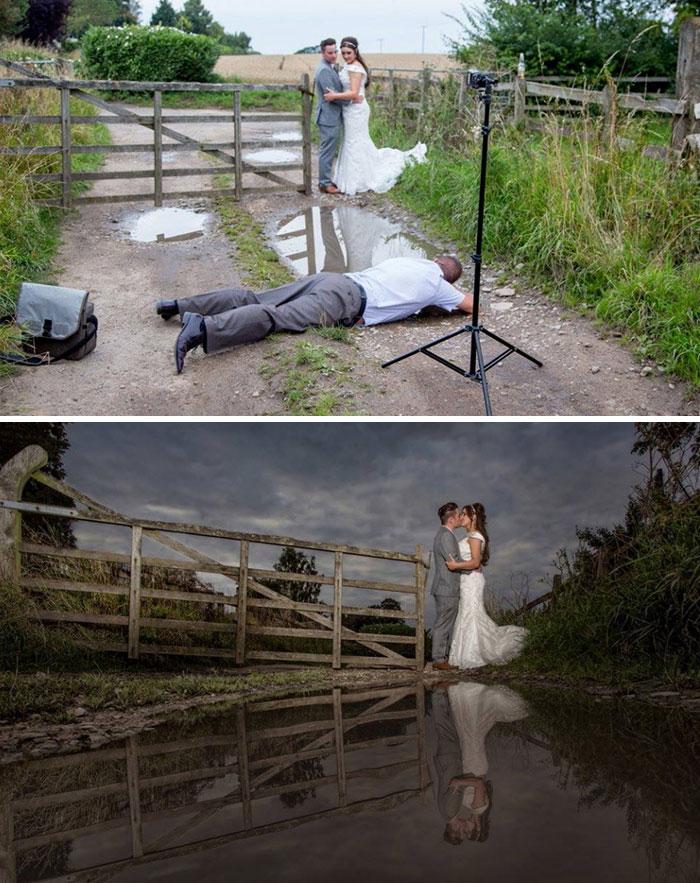 ТОП-8 весільних фотографів, яким доводиться лізти в багнюку і під спідницю - фото 2