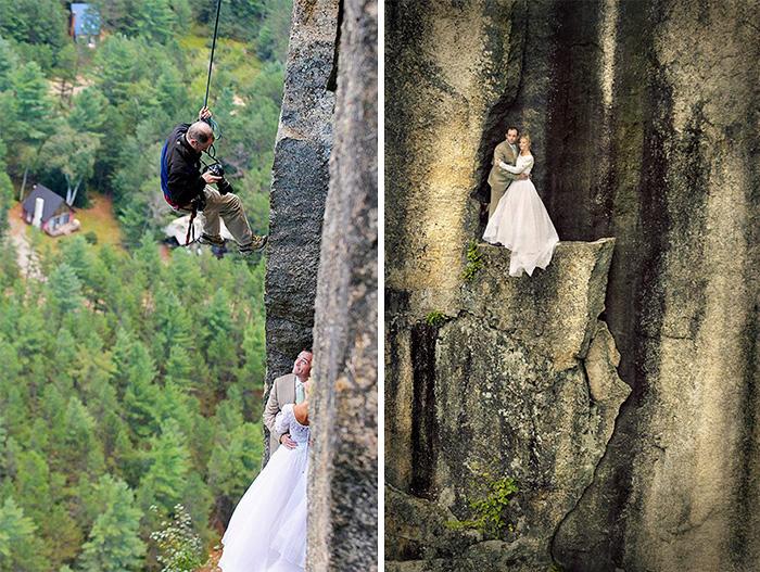ТОП-8 весільних фотографів, яким доводиться лізти в багнюку і під спідницю - фото 4