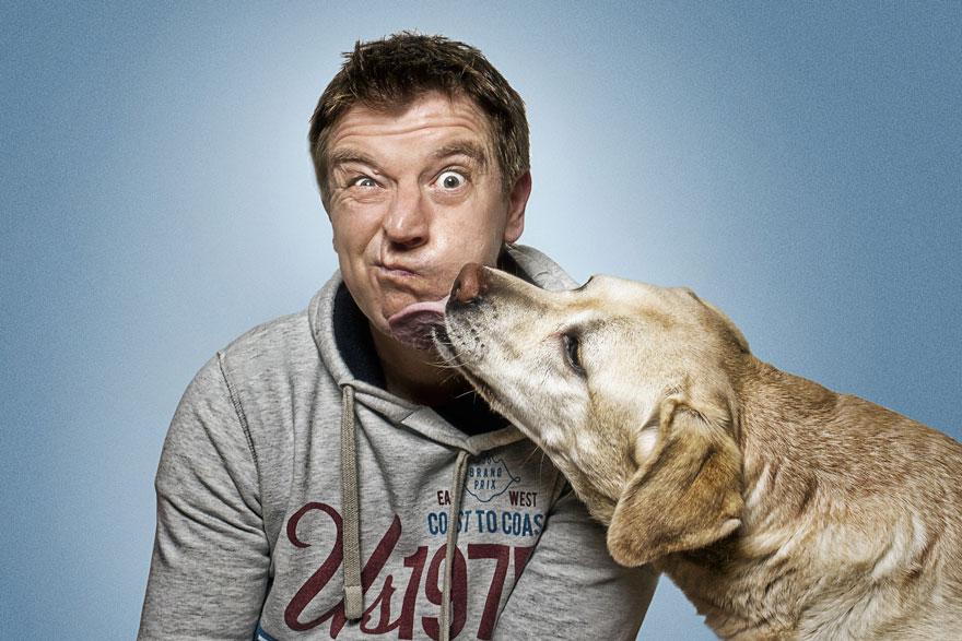 Фотограф зробив приголомшливі знімки собак з їжею - фото 1